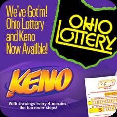 Ohio Lottery Keno at Tiki Lanes
